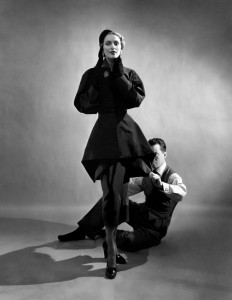 Charles James with Model, 1948  Courtesy of The Metropolitan Museum of Art, Photograph by Cecil Beaton,  Beaton / Vogue / Condé Nast Archive. Copyright © Condé Nast