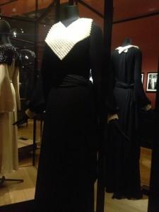 Alice Alleaume AH 1934-35 Robe refaite pour l'exposition. Non griffé.