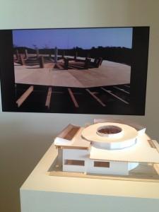 Dai Fujiwara, La maison du soleil, maquette en bois, 2000, © De fil en archive