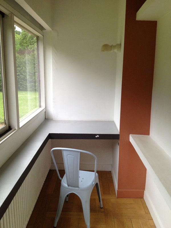 la villa savoye de le corbusier de fil en archive. Black Bedroom Furniture Sets. Home Design Ideas