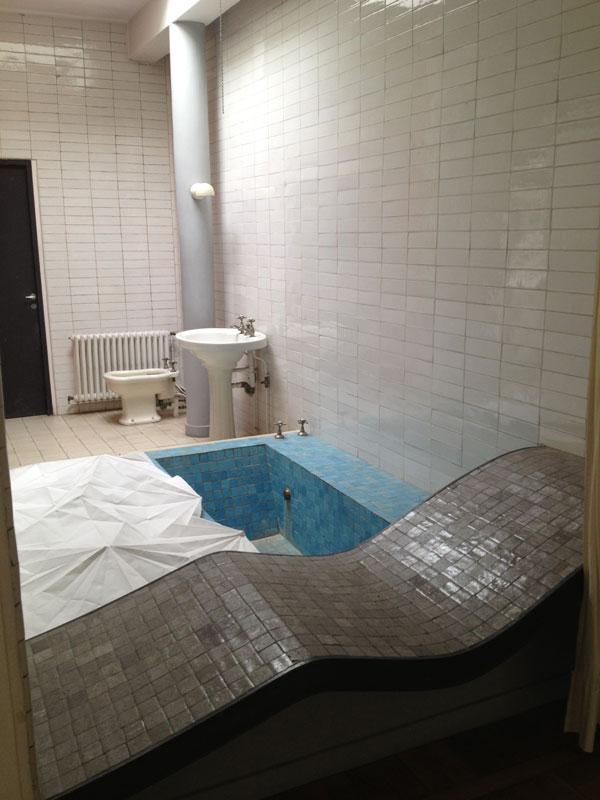 La villa savoye de le corbusier de fil en archive - Salle de bain villa savoye ...