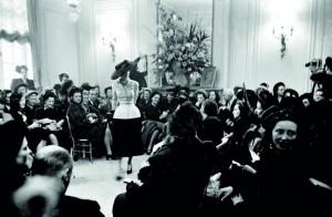 Premier défilé Dior 1947 ©Eugène Kammerman/Rapho