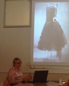 Catherine Join-Diéterle au séminaire de l'histoire de la mode  © De fil en archive