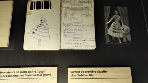 Incroyable carnet de commande d'une première d'atelier chez Christian Dior © De fil en archive